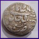1940 British India Quarter (1/4) Rupee Mule George VI King Silver Coin