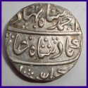 British India 1911 One Rupee Silver Coin - George V King