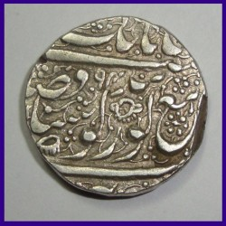 Sikh Empire One Rupee Katar Mintmark - Ranjit Singh - Silver Coin
