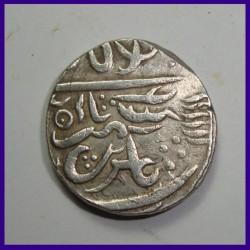 Bikanir State One Rupee Silver Coin - Mughal Coinage