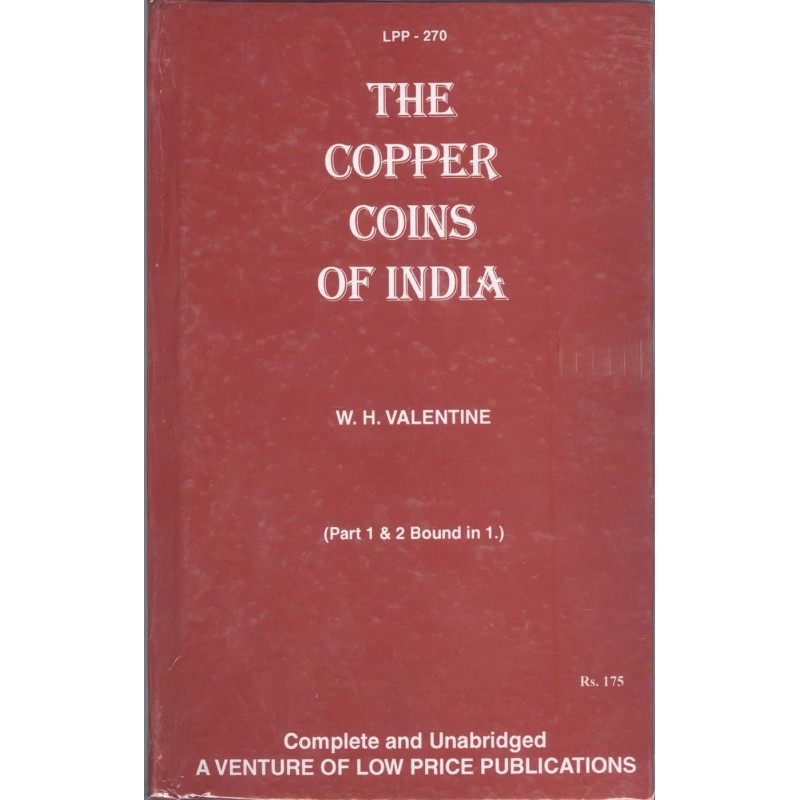 The Copper Coins Of India Book - W.H.Valentine