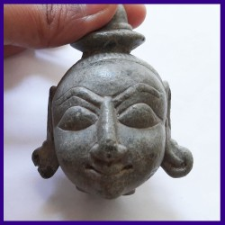 Head Of Lord Buddha - Made Up Of Stone