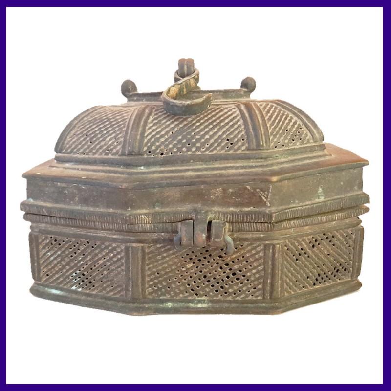 Madhya Pradesh State Jali Box - Antique Pandan