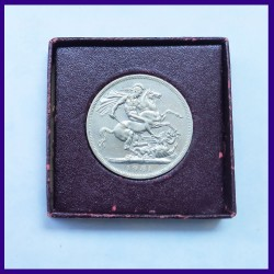 Crown 1951 Festival Of Britain 5 Shillings George VI Coin In Original Packing