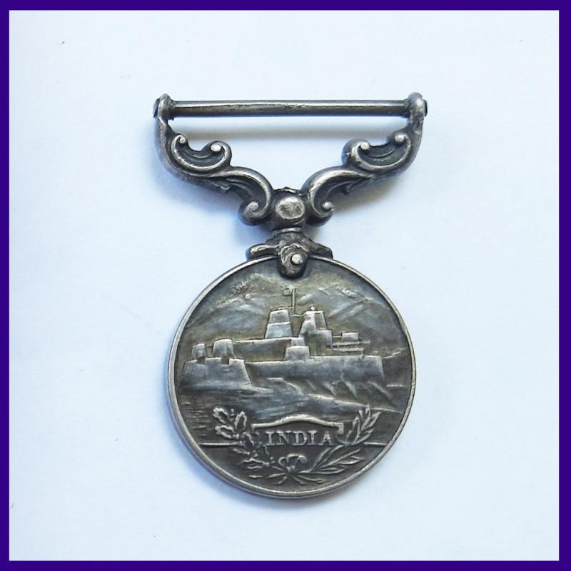 Kaisar I Hind Miniature Silver Medal George V King