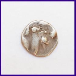 Jaisalmer State 2 Annas Bird & Umbrella Variety Silver Coin