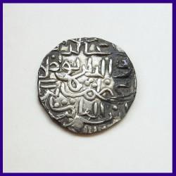 Ghiyath al din Azam Shah Bengal Sultanate Silver Tanka