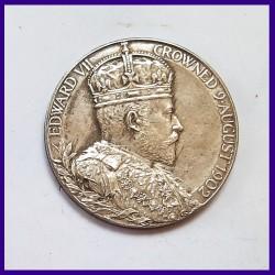 Edward VII Silver Coronation Medal 9th August 1902