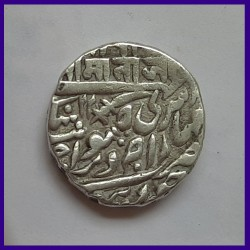 Jodhpur State Queen Victoria Jaswant Singh One Rupee Silver Coin