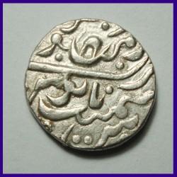 Jodhpur State Spear Mintmark Pali Mint Shah Alam II One Rupee Silver Coin