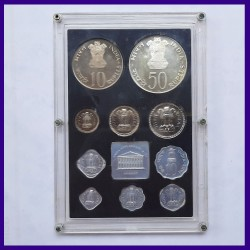 1974 Proof Set of 10 Coins Within Original Packaging, Planned Families Food For All