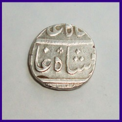 Bombay Presidency One Rupee Silver Coin East India Company