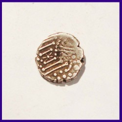 Chalukyas of Gujarat Silver Drachm Ancient India Silver Coin
