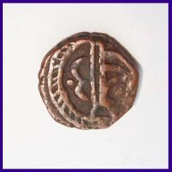 Sailana One Paisa Dule Singh Copper Coin