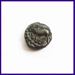 Nagas Of Padmavati, Ganapati Naga (3rd century AD) Copper Coin