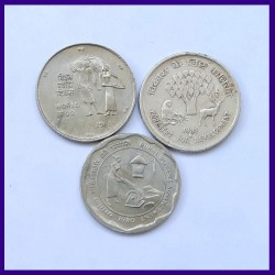 Set of 3 Different 25 Paise Coins Commemorative Coins