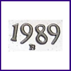 1989 Proof 1 Re Jawaharlal Nehru Birth Centenary Coin