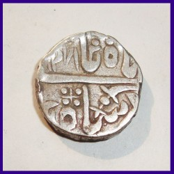 Jodhpur Pali Mint Shah Alam II One Rupee Silver Coin