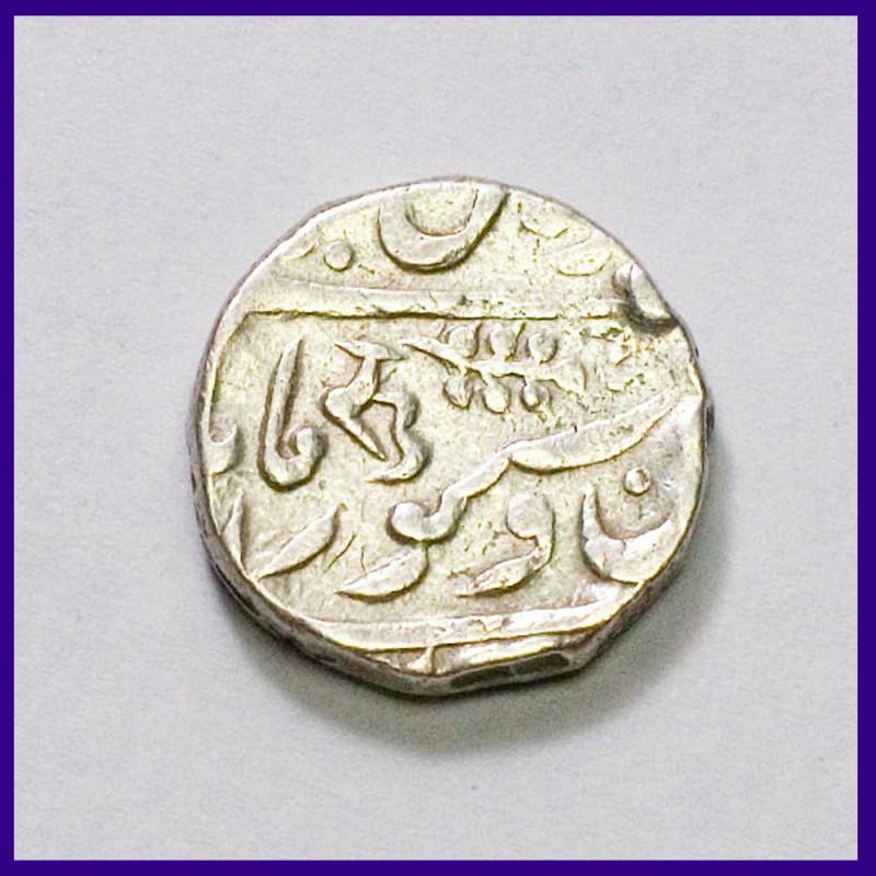 Jodhpur Ru Mintmark Takht Singh & Queen Victoria One Rupee Silver Coin