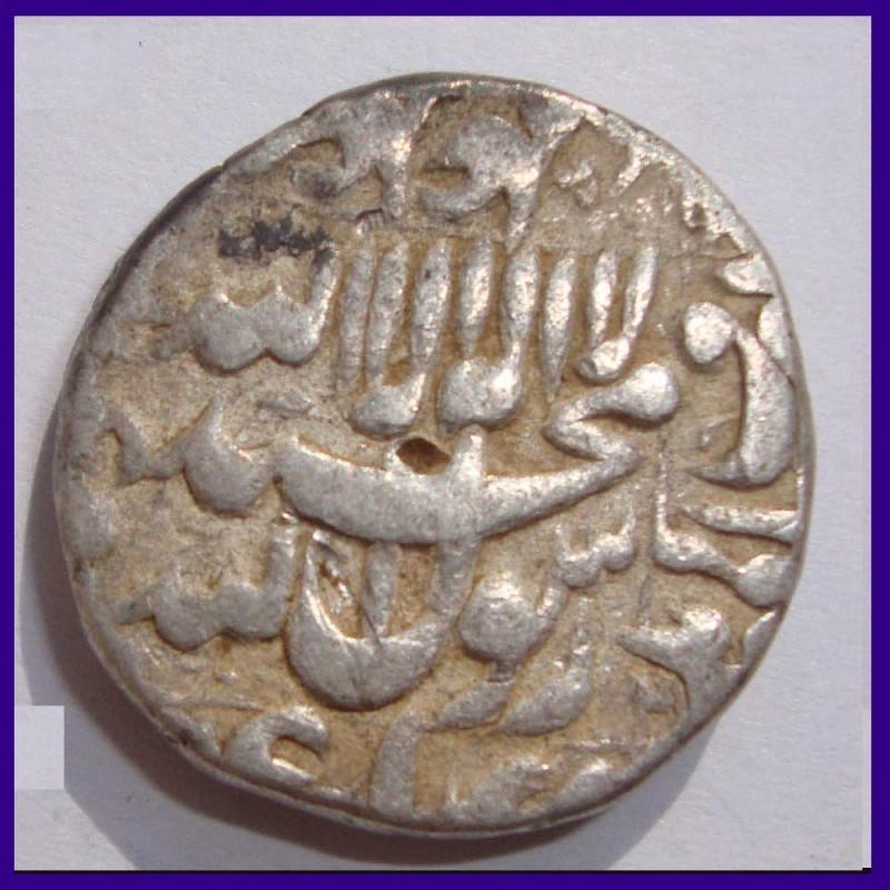 Shah Jahan Kashmir Mint Silver One Rupee Coin, Mughal Emperor