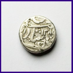Hyderabad Feudatories Narayanpett Dilshadabad 1 Rupee Silver Coin