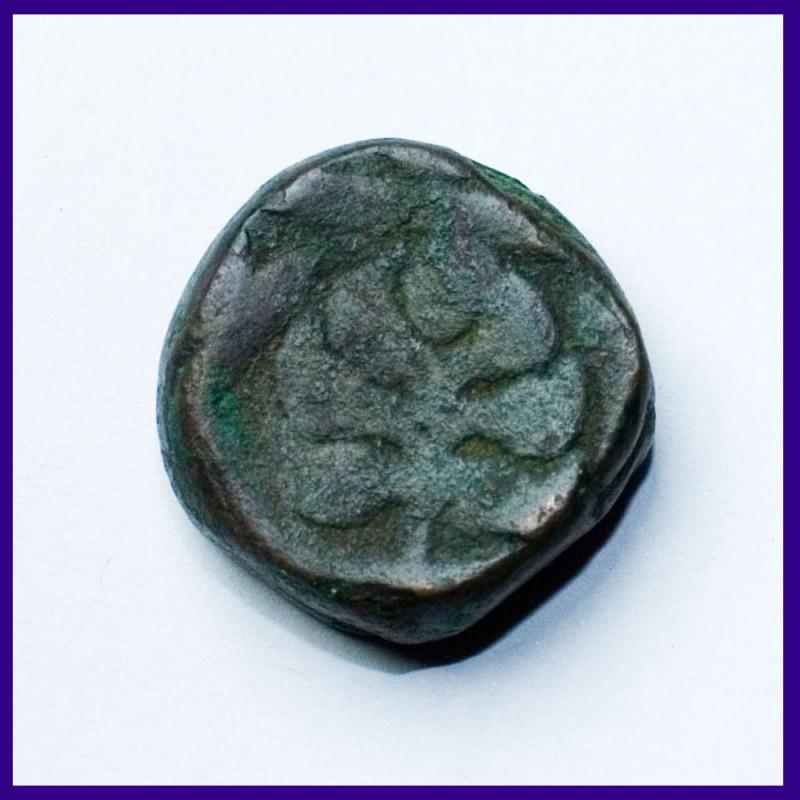 Kishangarh Takka Jhar Mintmark Copper Coin