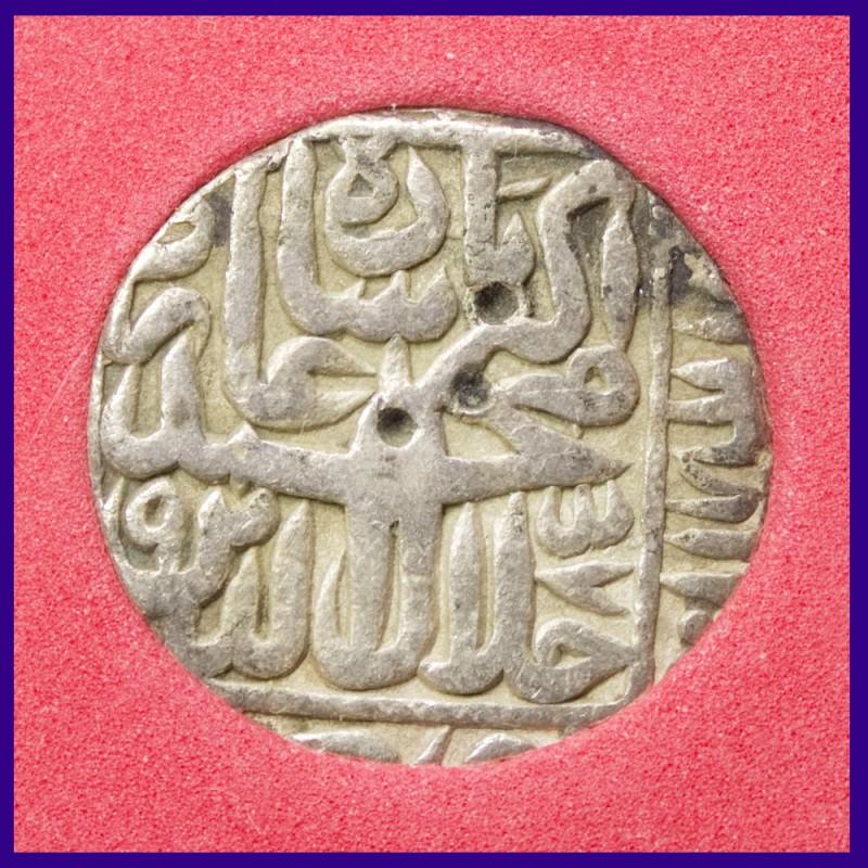 Akbar Rupee Certified Coin Agra Mint - Mughal Emperor Silver Coin