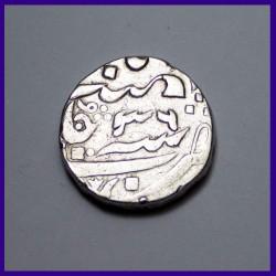 Maratha Balwantnagar Mint Silver One Rupee Coin