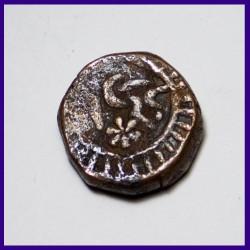 Ratlam State Paisa Full Katar Visible, Ranjit Singh Copper Coin