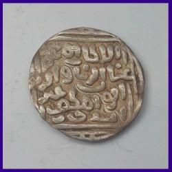 Delhi Sultanate Tanka, Ghiyath ud-Din Mahmud (Balban), Silver