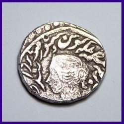 Bharatpur One Rupee Jaswant Singh Silver Coin