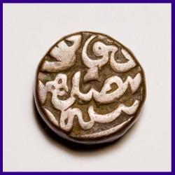 Akbar Dam Dogaon Mint Copper Coin - Mughal Coinage