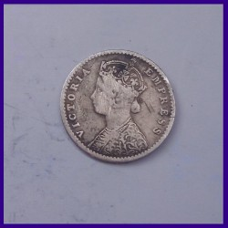 1938 British India Half Rupee George VI King Silver Coin