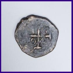 1698 Bazaruco Portuguese Copper Coin